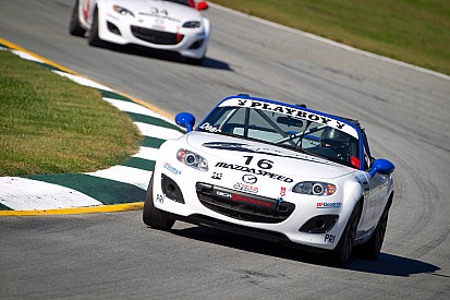 Dean quickest in Mazda MX-5 Cup Practice One from Sebring