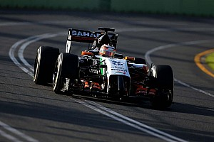 Formula 1 Practice report Force India after Friday's practice at Albert Park