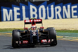 Formula 1 Qualifying report The back of the Melbourne grid for Lotus