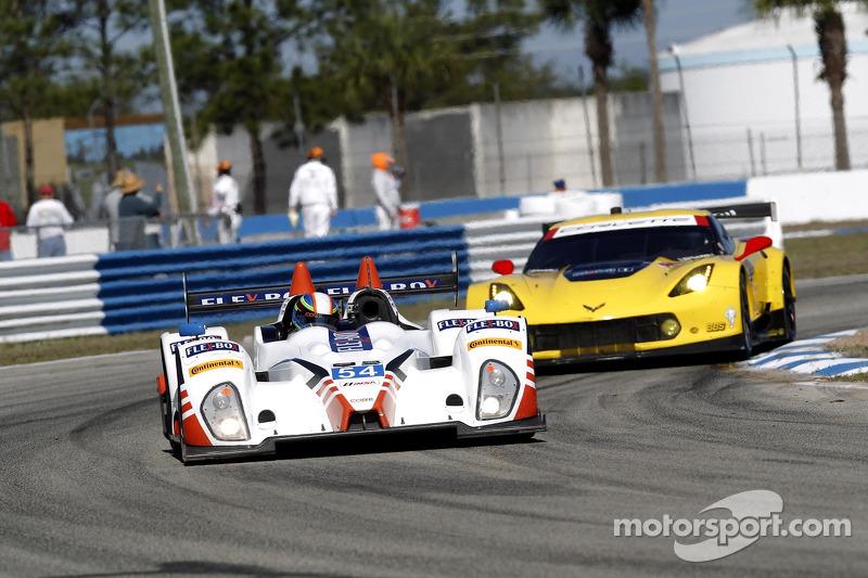 CORE autosport 4th on Sebring PC Grid