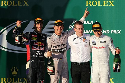 Mercedes wins but Red Bull crisis ending