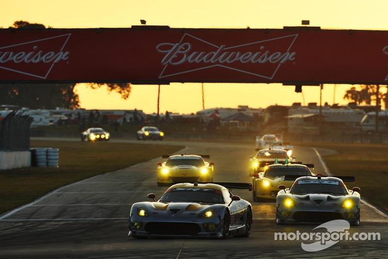 SRT Motorsports finished 12H of Sebring on podium