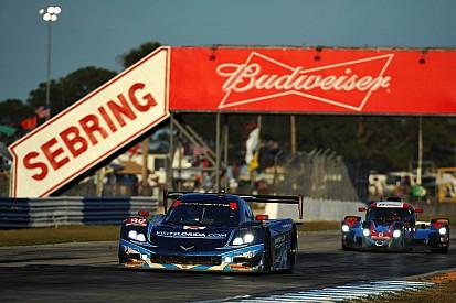 Small setback costs Visit Florida Racing big finish in Sebring