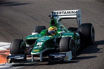 Rio Haryanto quickest on Day 2 at Bahrain