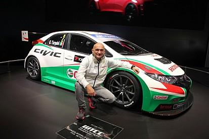 Honda unleash 'Muscular' new Civic to take on FIA WTCC 2014