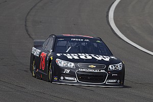 NASCAR Cup Race report Truex Jr. battle adversity with hard-fought performance in California