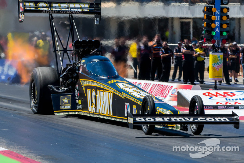 Tony Schumacher looking for a luck at Vegas