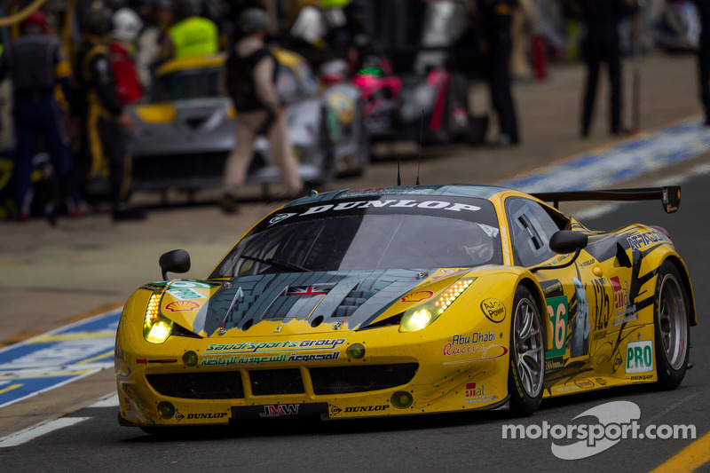 JMW and Taisan Ferraris replace Viper entries for Le Mans 2014