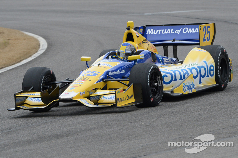 Andretti Autosport drivers preview St. Pete race