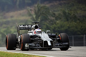 Formula 1 Practice report Strong result by McLaren Mercedes at Sepang