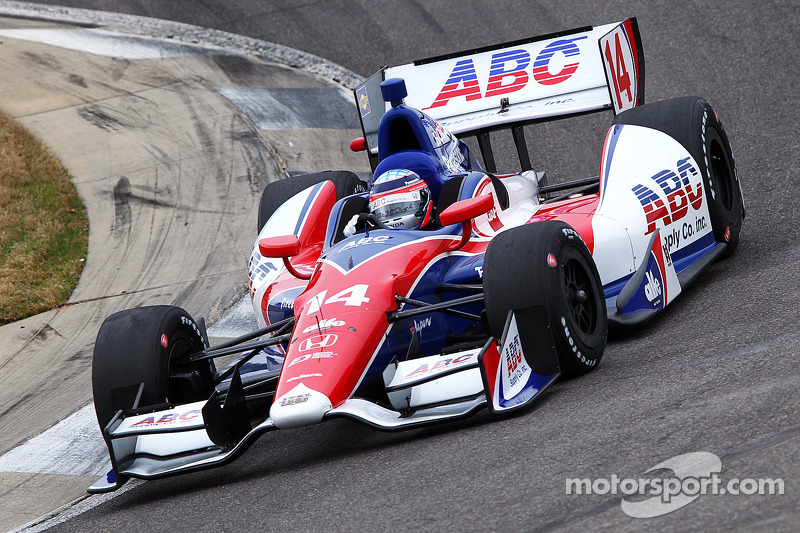 Sato leads opening day of practice at St. Petersburg