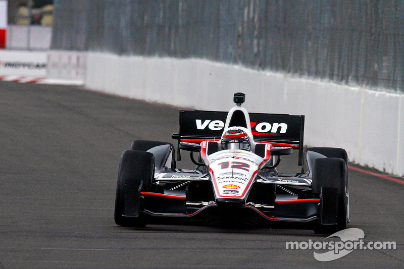 Team Penske starts strong with solid practice on the streets of St. Pete