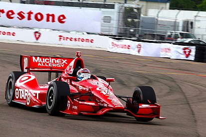 Tony Kanaan leads Team Chevy in St. Pete qualifying
