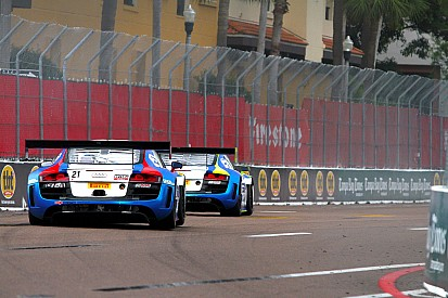 GMG's Andrew Palmer takes victory in Pirelli World Challenge debut