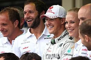 Formula 1 Breaking news Doctors 'cautious' after Schumacher awakening news