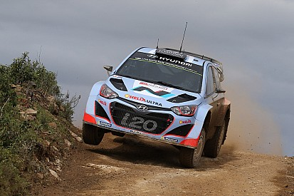 Maiden stage wins for Hyundai on milestone day in Rally de Portugal