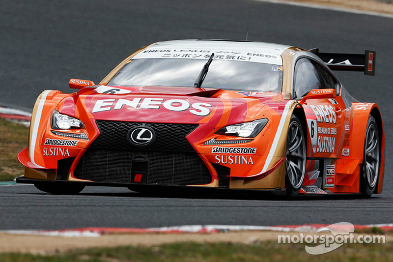 Lexus and Toyota claim pole positions at Okayama for first round