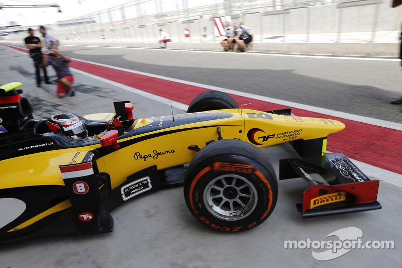 Race 1 in Bahrain: after a great start Richelmi lost positions because of the tires