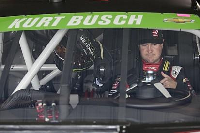 Roller coaster ride for Kurt Busch