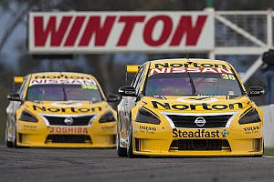Supercars Race report Norton Nissan duo takes double top 10 result at Winton