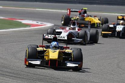 Palmer sprints to Sakhir victory