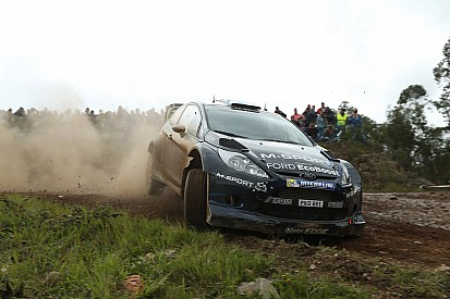 On the pace: Hirvonen takes second in Portugal