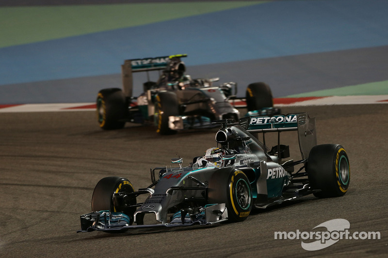 Mercedes secure back-to-back wins at Bahrain
