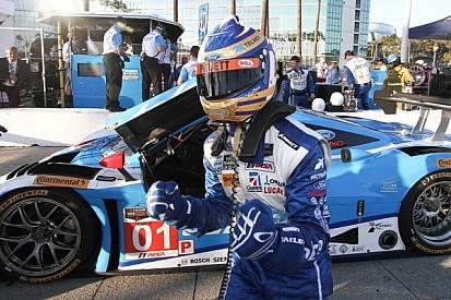 Scott Pruett snags pole at Long Beach