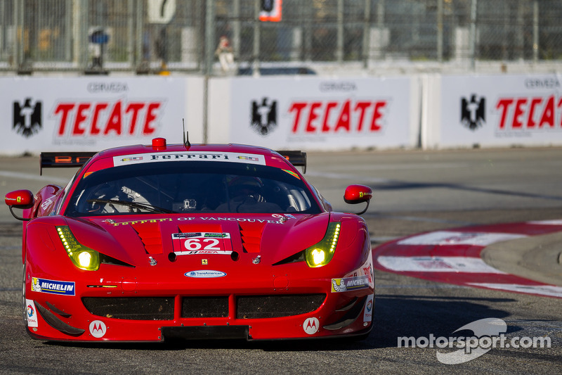 Risi mixes it up with factory teams in Long Beach qualifying