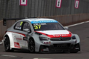 WTCC Qualifying report López wins first pole for Citroën