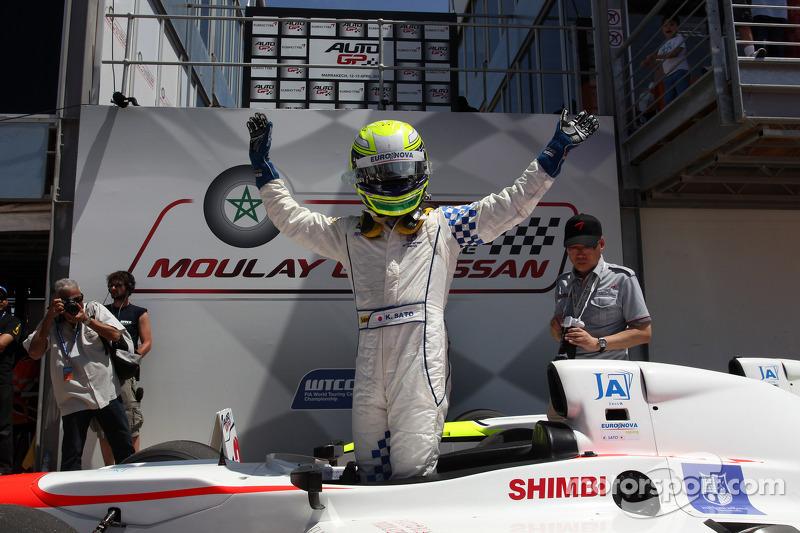 Marrakech, race-1: Kimiya Sato (Euronova) takes win in a crazy race