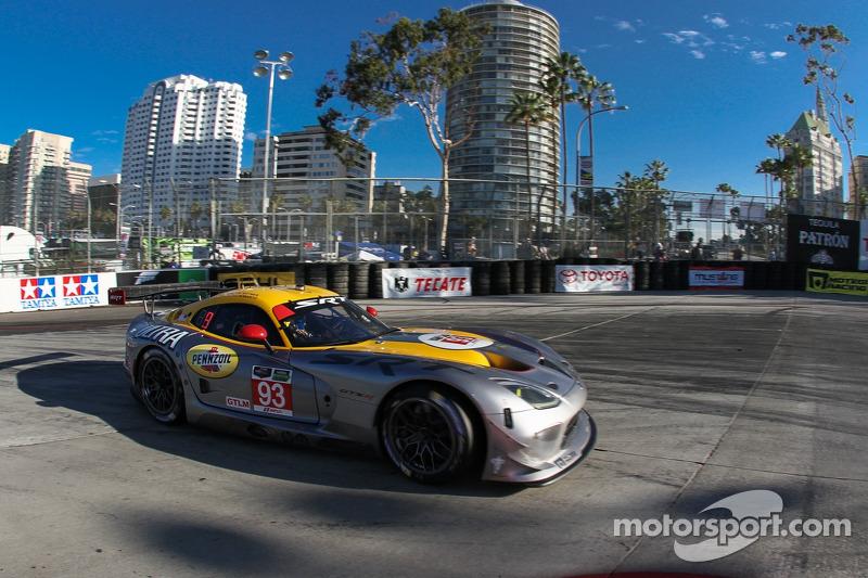 SRT Viper GTS-R finished seventh at Long Beach
