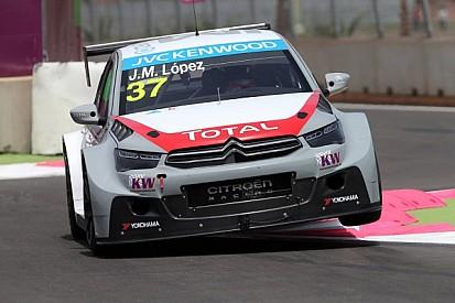 José María López leads Citroën trio in race 1 at Marrakech