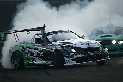 Daigo Saito takes the victory on the Motegi Racing Super Drift Challenge