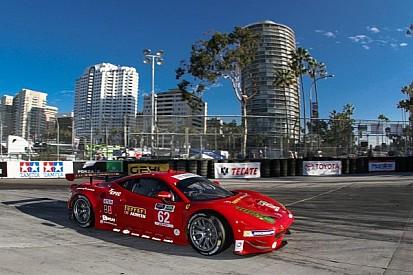 Risi Ferrari takes the checker at long beach!