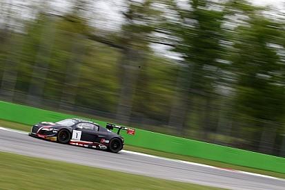 The Belgian Audi Club Team WRT narrowly misses a podium finish at Monza
