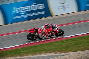 MotoGP Race report Dovizioso takes Ducati back to the podium as Crutchlow crashes