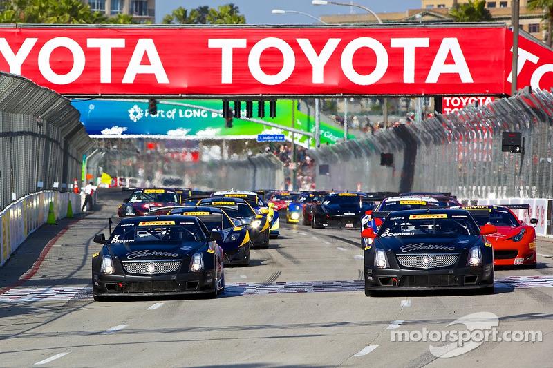 Team Cadillac wins at Long Beach