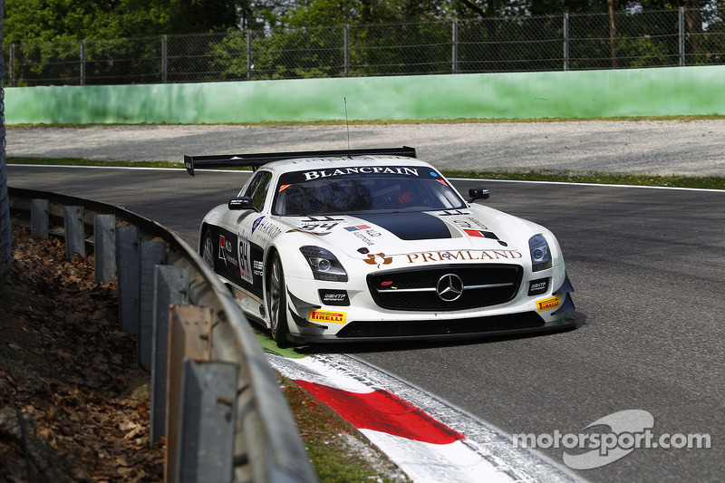 Primat claims strong fifth in Blancpain Endurance Series opener