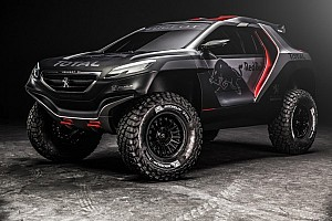 Dakar Breaking news Peugeot reveals Dakar challenger: the 2008 DKR