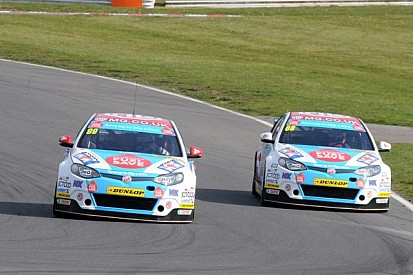 Jason Plato heads an MG 1-2 in race one