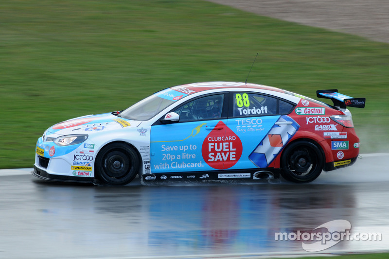 Tordoff grabs win in frantic race two