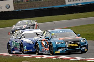 BTCC Race report Rob Holland's efforts blighted by heavy impact