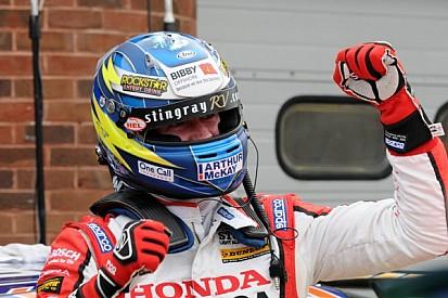 Honda Racing claims magnificent victory at Donington Park