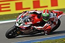 Giugliano and the Ducati Superbike Team score first podium of the season today at Assen