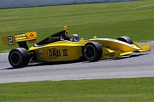 Indy Lights Race report Zack Meyer equals season-best finish of eighth in legacy Indy Lights 100 doubleheader