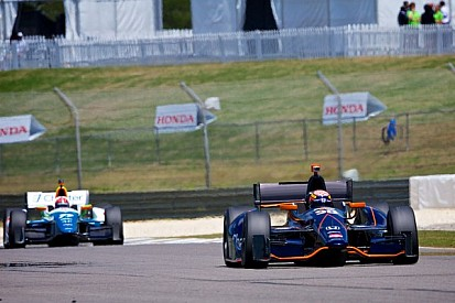 Twelfth place finish for Hawksworth in Barber