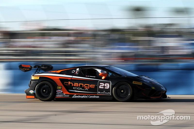Conway takes points lead into next Lamborghini Super Trofeo round