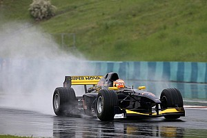 Auto GP Qualifying report Markus Pommer takes maiden Auto GP pole position in Budapest