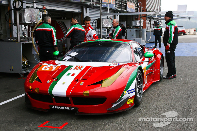 Ferrari takes two poles in GTE qualifying at Spa
